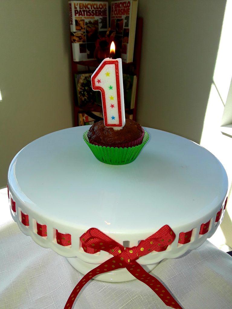 Celebrating, Happy 1 year Blogiversary